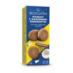 Biscuiti fara gluten, cu crema de nuca de cocos