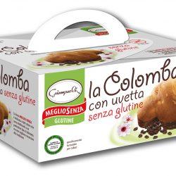 """COZONAC FARA GLUTEN """"COLOMBA"""" CU STAFIDE"""