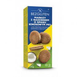 Biscuiti pku cu crema de nuca de cocos, fara gluten