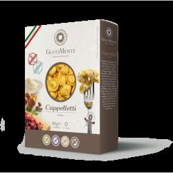 Paste fainoase proaspete Cappelletti, cu carne bovina, branza Parmigiano Reggiano DOP, branza Mortadella de Bologna IGP, fara gluten - GUSTAMENTE