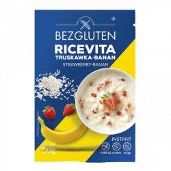 Fulgi de orez cu capsune si banana fara gluten-RICEVITA