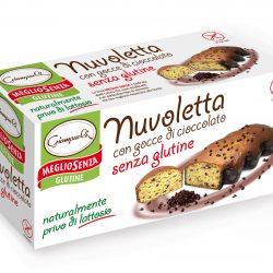 "Prajitura cu pepite de ciocolata ""Nuvoletta"", fara gluten, fara lactoza"