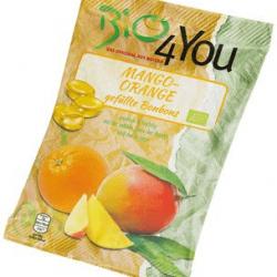 Bomboane Mango-Portocale fara gluten, vegan