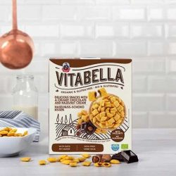 Cereale pernite cu ciocolata fara gluten,bio