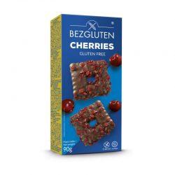 Biscuiti fara gluten cu ciocolata belgiana si cirese